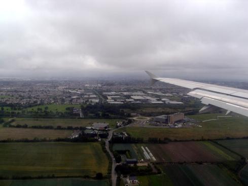 Dublin vista do alto