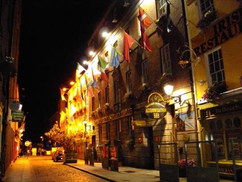 Pubs Temple Bar Dublin