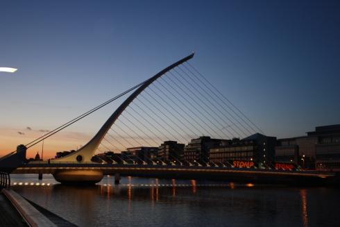 Ponte Samuel Beckett Rio Liffey