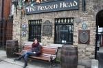 Eu no Brazen Head em maio de 2012
