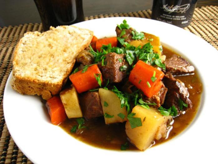 Irish Stew tradicional ensopado