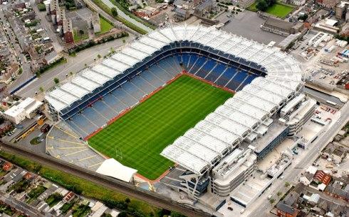 Croke Park em Dublin, casa dos esportes gaélicos
