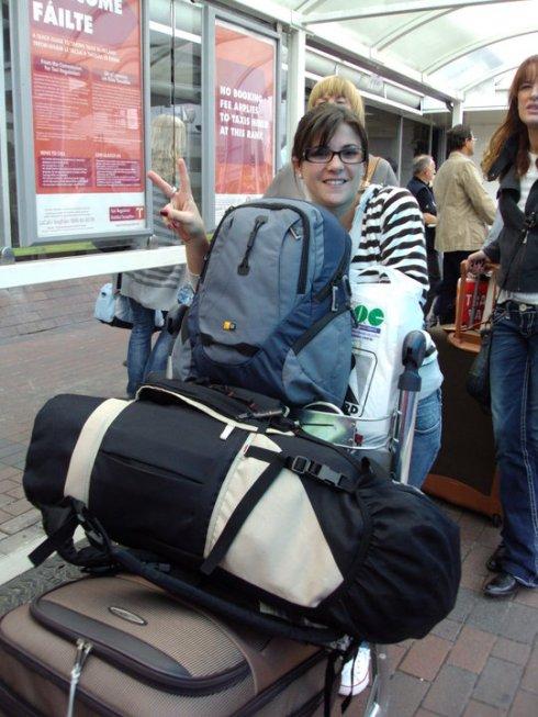 Chegando em Dublin em 2010