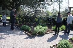 """Plantas venenosas engaioladas no """"Poison Garden"""""""