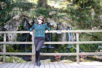 """Uma das cachoeiras no """"Bog Garden"""""""
