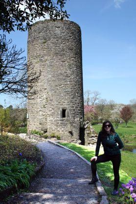 Mais uma torre, dessa vez no castelo de Blarney