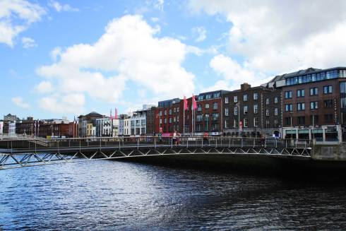 Quay in Dublin
