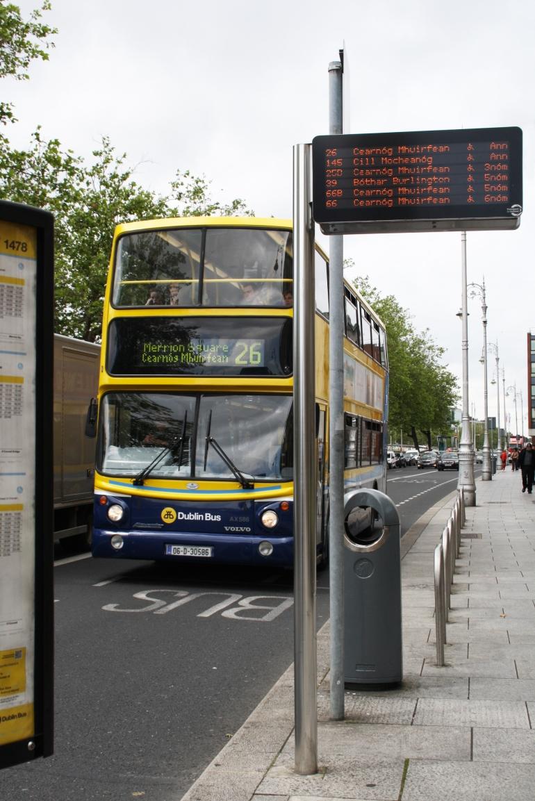 Transporte público Dublin