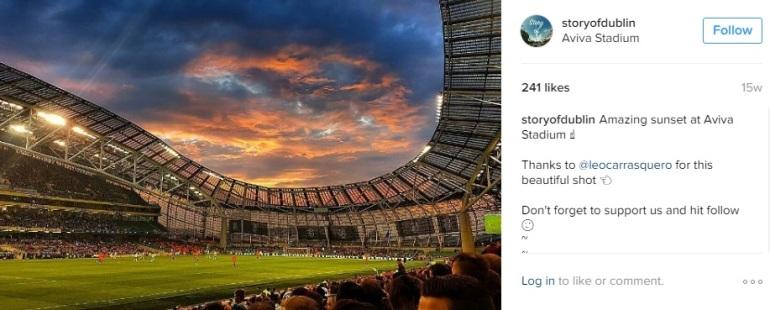 Instagram Dublin