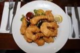 Peixes e frutos do mar deliciosos em Dingle