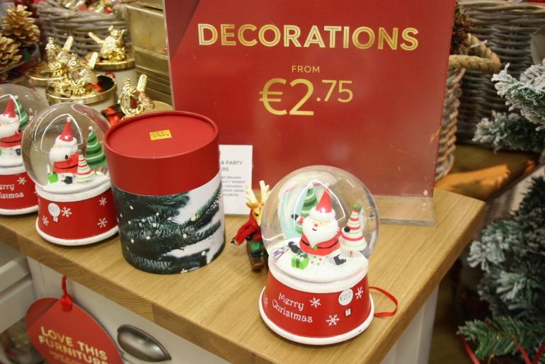 Decoração de Natal em Dublin