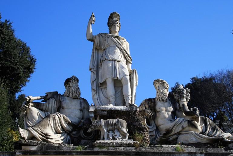 Esculturas Romanas Roma Itália